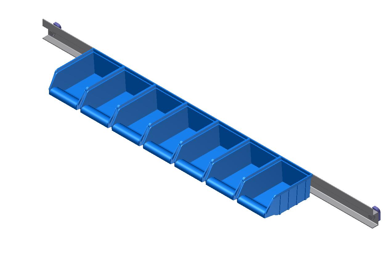 Bin Rail
