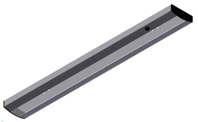 LED undershelf