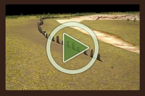 Archaeology is a major partner in the Stonehenge study. In this video they present a virtual flyover of the new Durrington Wall stones as they would have appeared millennia ago.