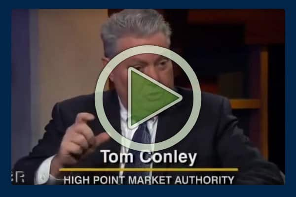 Originally called the Southern Furniture Market back when it was founded in 1909, today's High Point Market is the world's largest home furnishings industry trade show in the world. In this video interview with a Carolina business journalist, Tom Conley, President CEO High Point Market Authority, feels optimistic about more furniture manufacturing returning to the US from places like China.