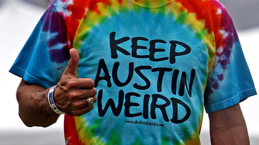 Keep Austin Weird, image by Storefront Blog