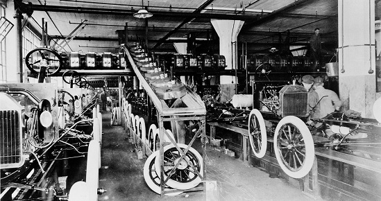 Innovation Moving Assembly Line Carousel, image by Ford Motor Company