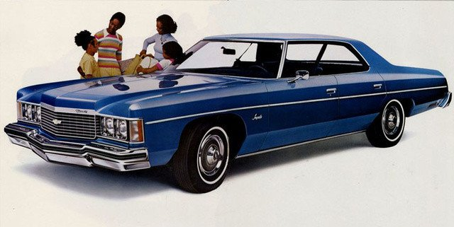 1974 Chevrolet Impala, image by CarGurus