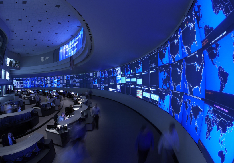 ATT Global Network Operation Center, image by Fortune