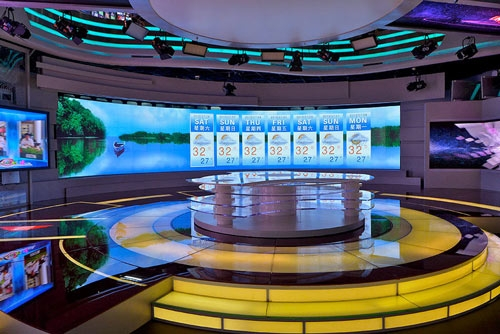 Video Wall, image by RGB Spectrum