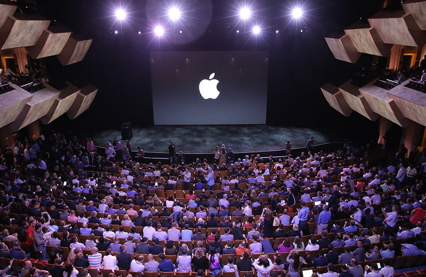 Apple Conference, image by Digital Trends