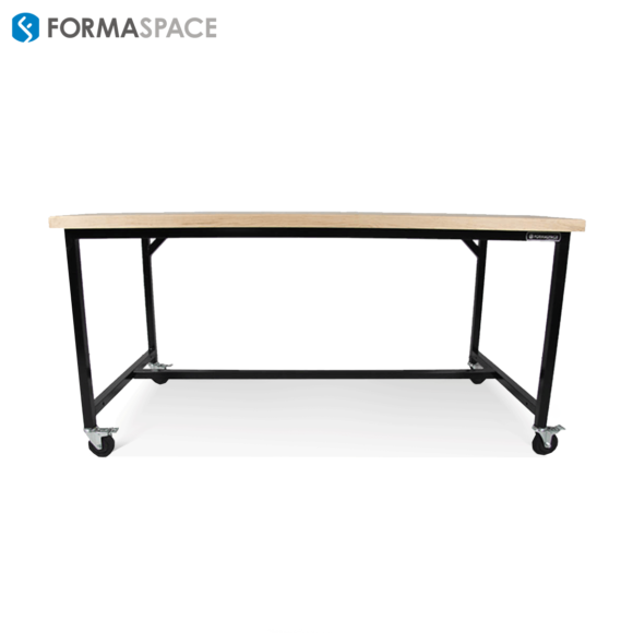 Basix Workbench with elegant maple countertop