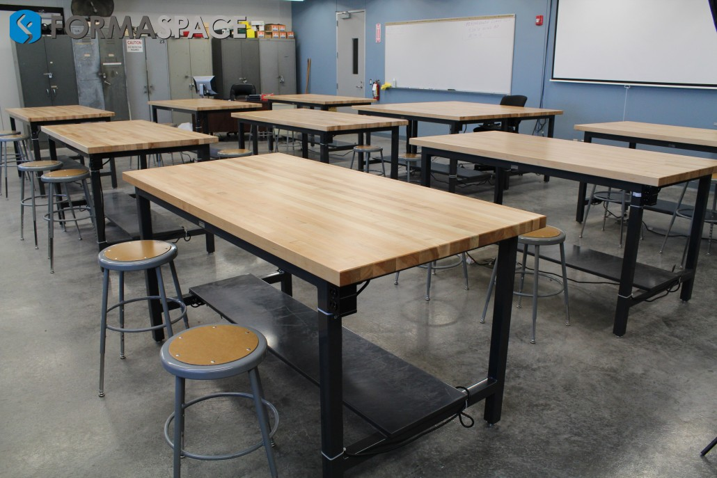 Texas State Technical College's Heavy Duty Repair Classroom