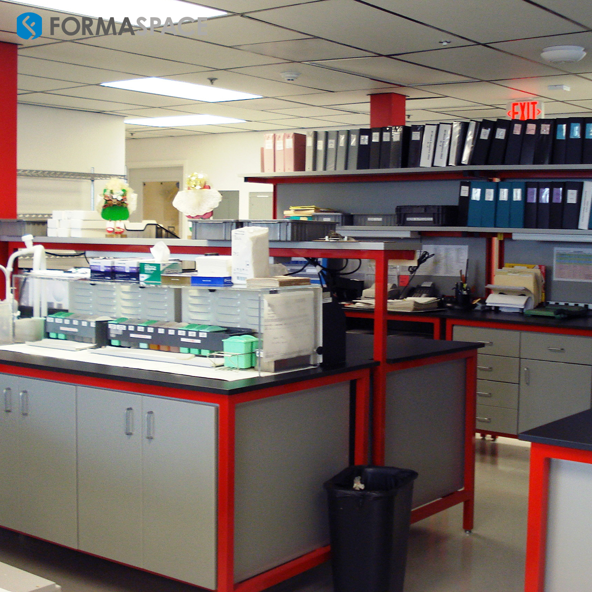 Compact Healthcare Laboratory Makeover