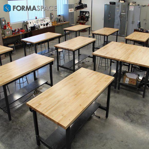 butcher block classroom
