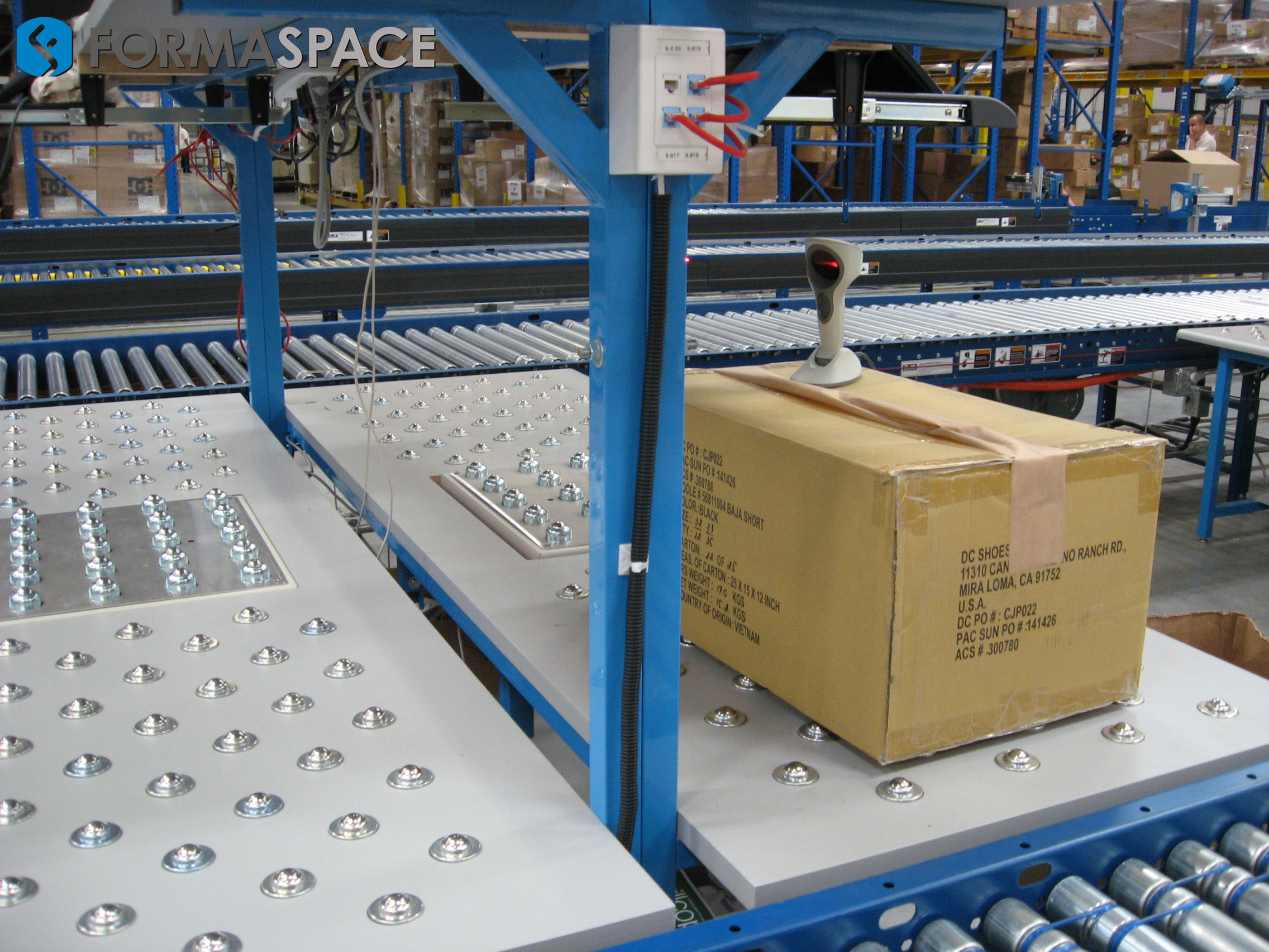 receiving-station-conveyors