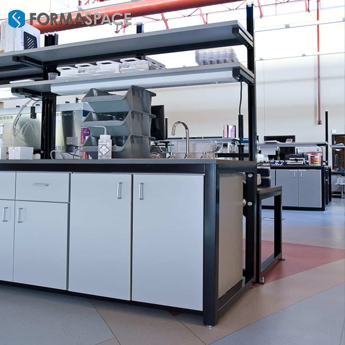 sample processing modular lab benches