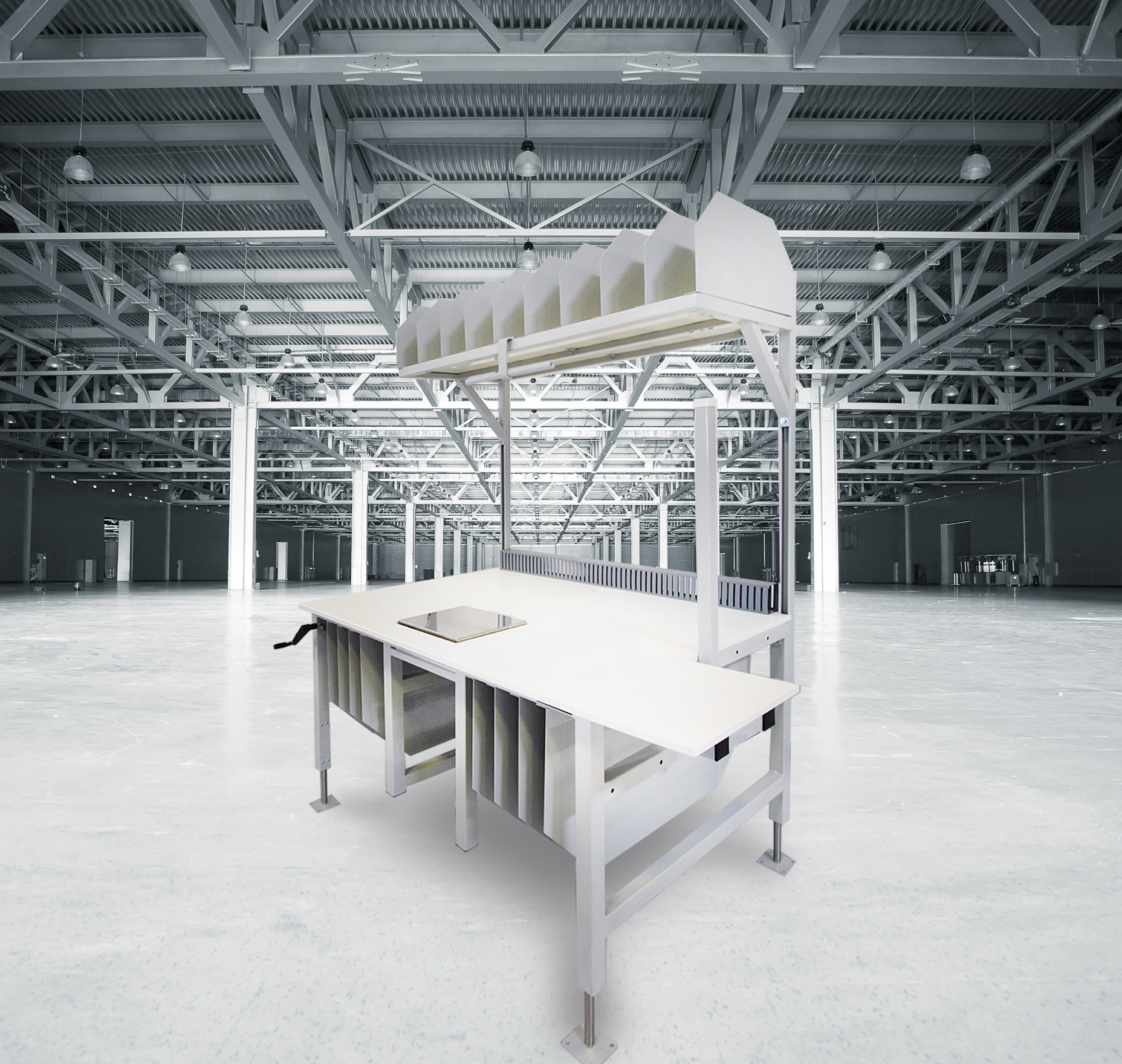 Industrial Workbenches, Laboratory Furniture, And Computer