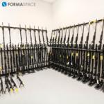 custom armory gun rack