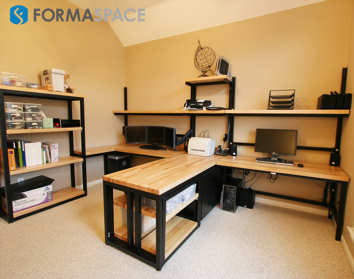 Custom Home Office Suite