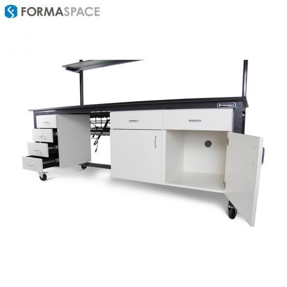 phenolic top modular workbench