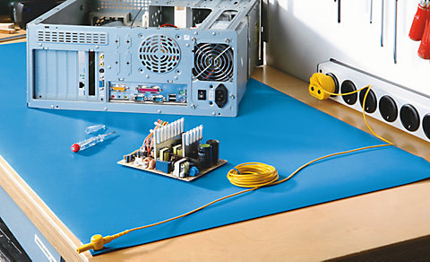Why Permanent Esd Workbenches Are Safer Than Esd Mats