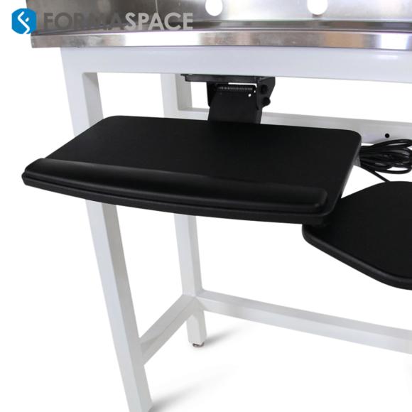 Stainless Steel Desk Keyboard Tray