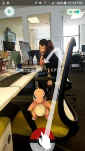 pokemon at office