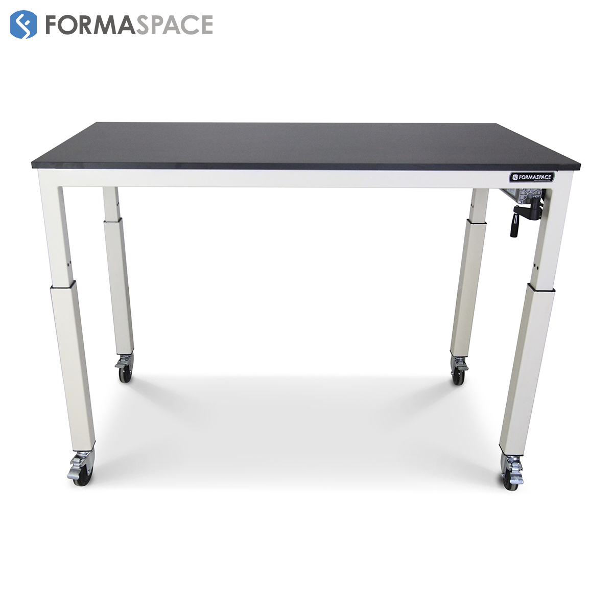 ergonomic student lab table phenolic top