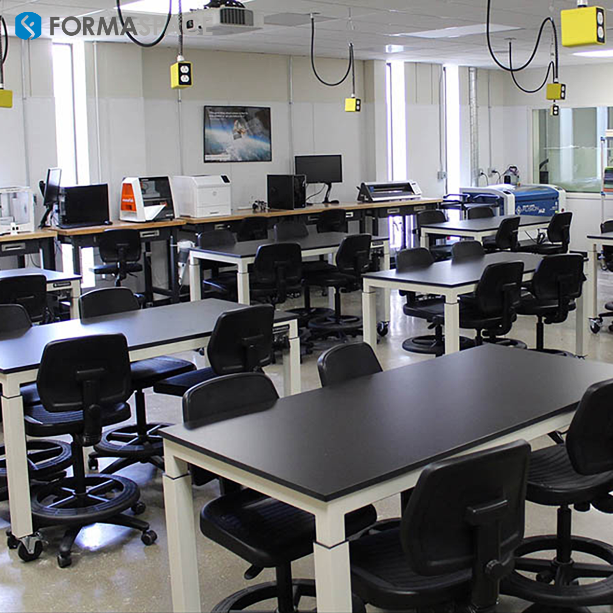 High School Classroom with Lab Furniture
