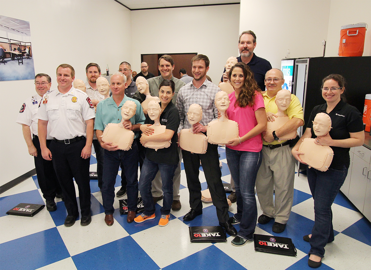 EMS Take 10 compression only CPR