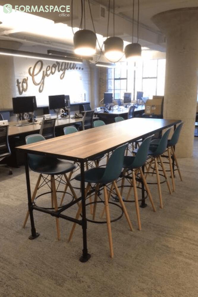 custom standing height table