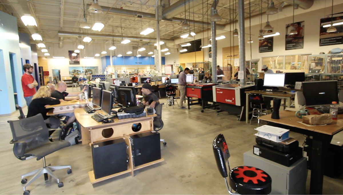Austin Techshop Inside