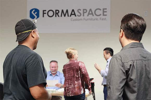 formaspace emplyees - flu shot