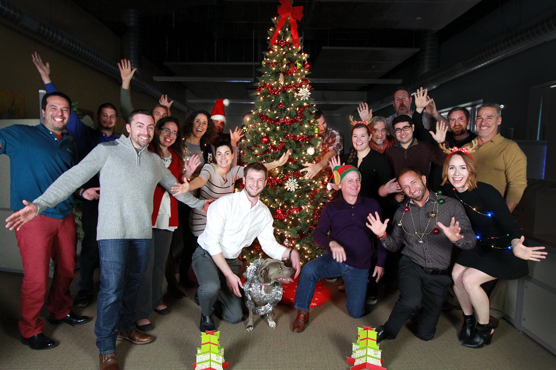 Team Formaspace Christmas Photo Shoot