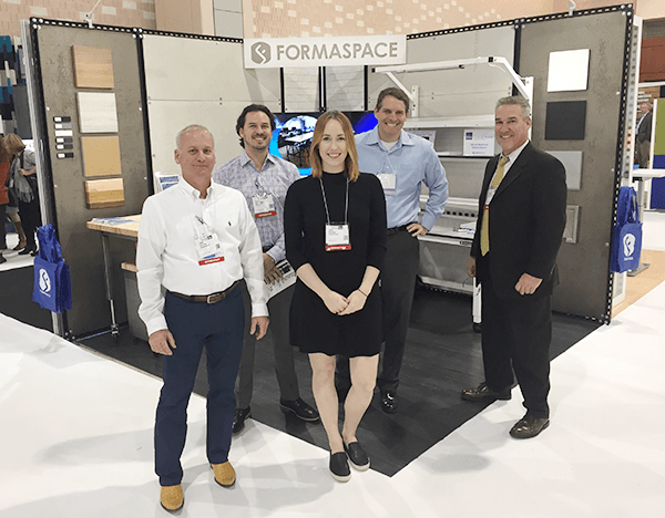 Team Formaspace at NeoCon East 2016