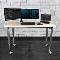 Ergonomic Sit to Stand Bench
