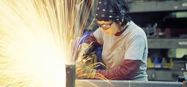 technician metal fabrication shop