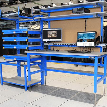 lan rack and computer workbench