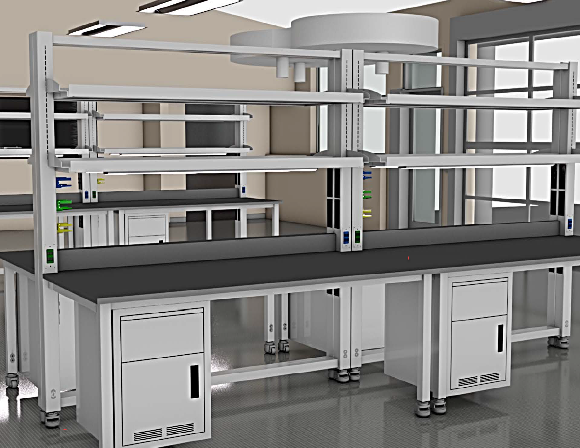 integrated lab services bench