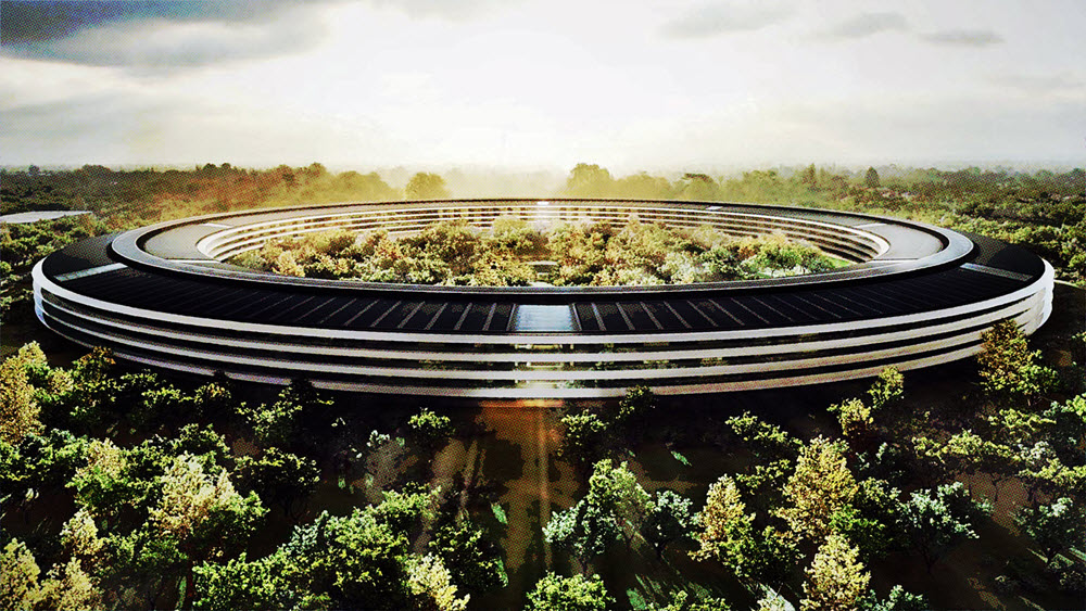 new apple building in cupertino
