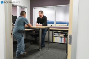 height adjustable office furniture suite