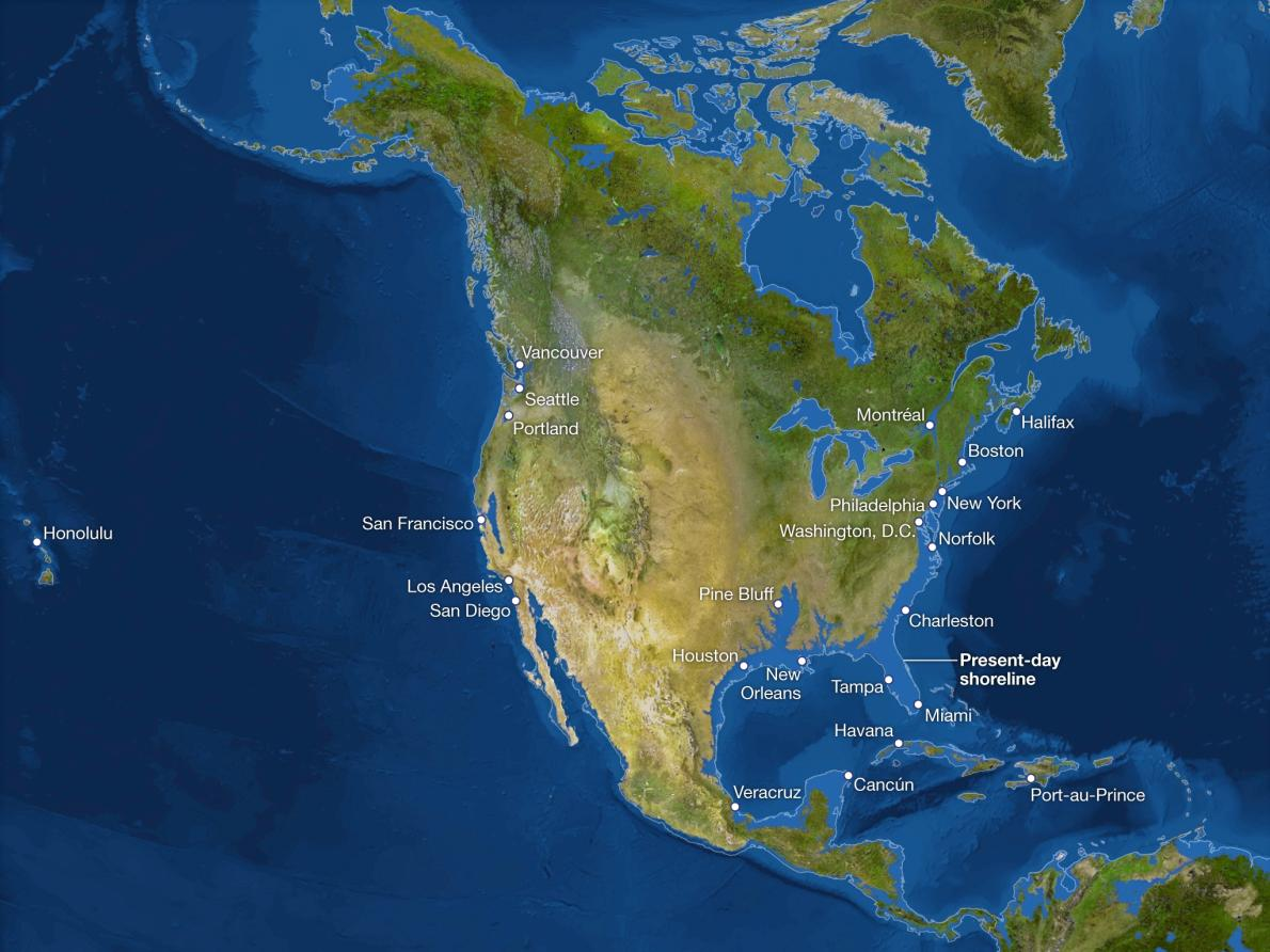 north america ice melt
