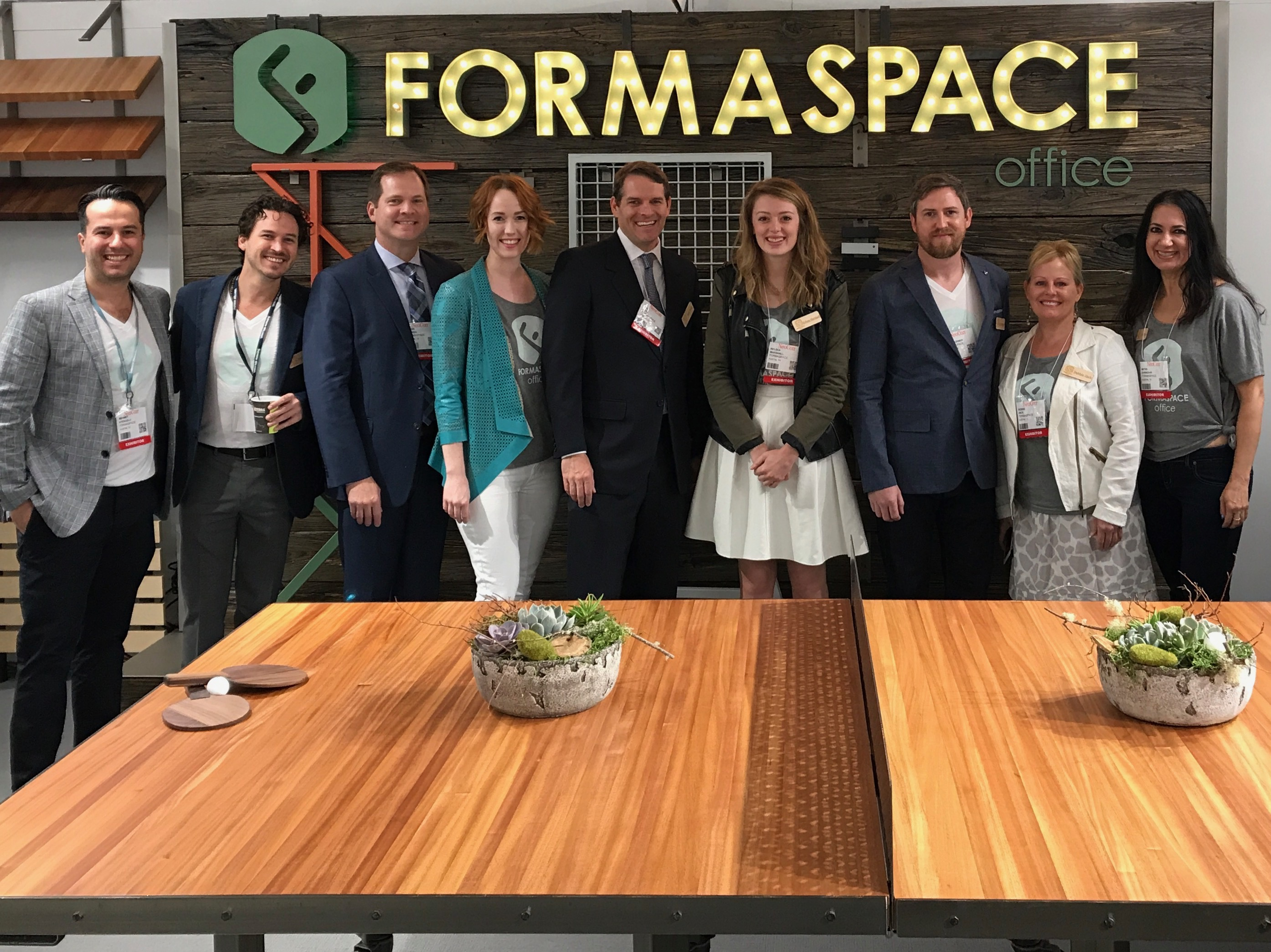 Team Formaspace at NeoCon 17