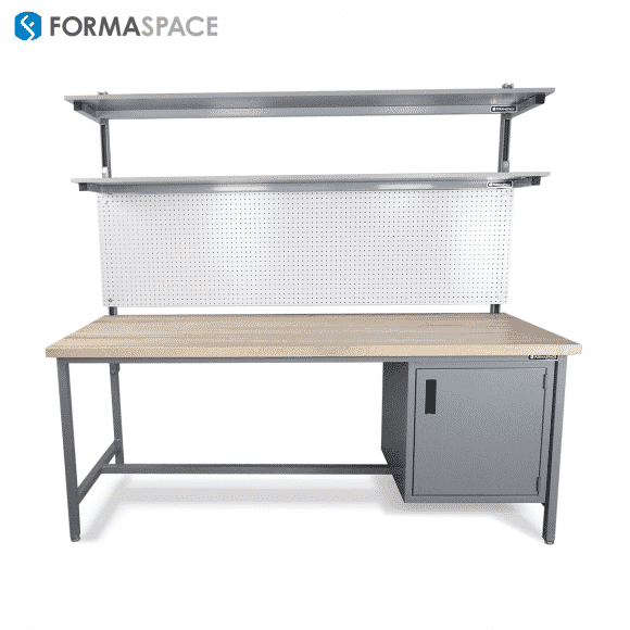 bench pegboard steel cabinet