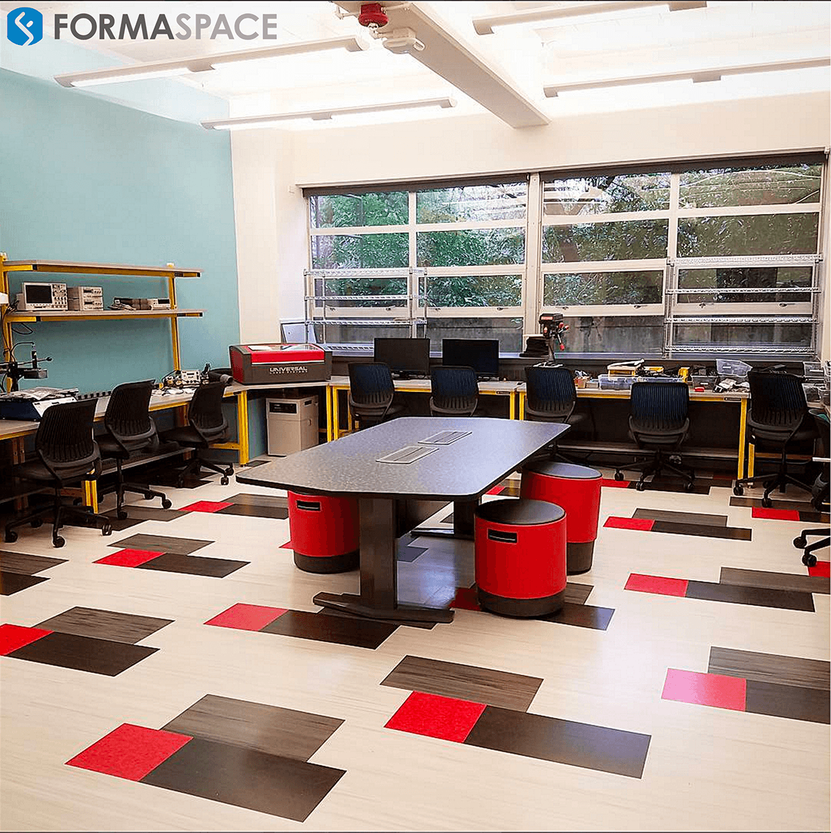 Makerspace Furniture for University Innovation Lab