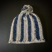 Hand Crocheted Hat for a Dallas Cowboys Fan