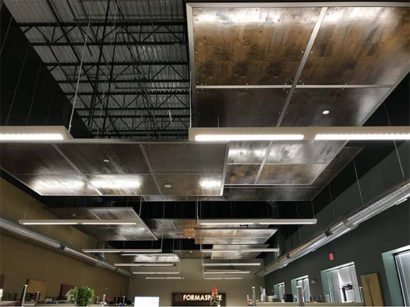 formaspace ceiling panels