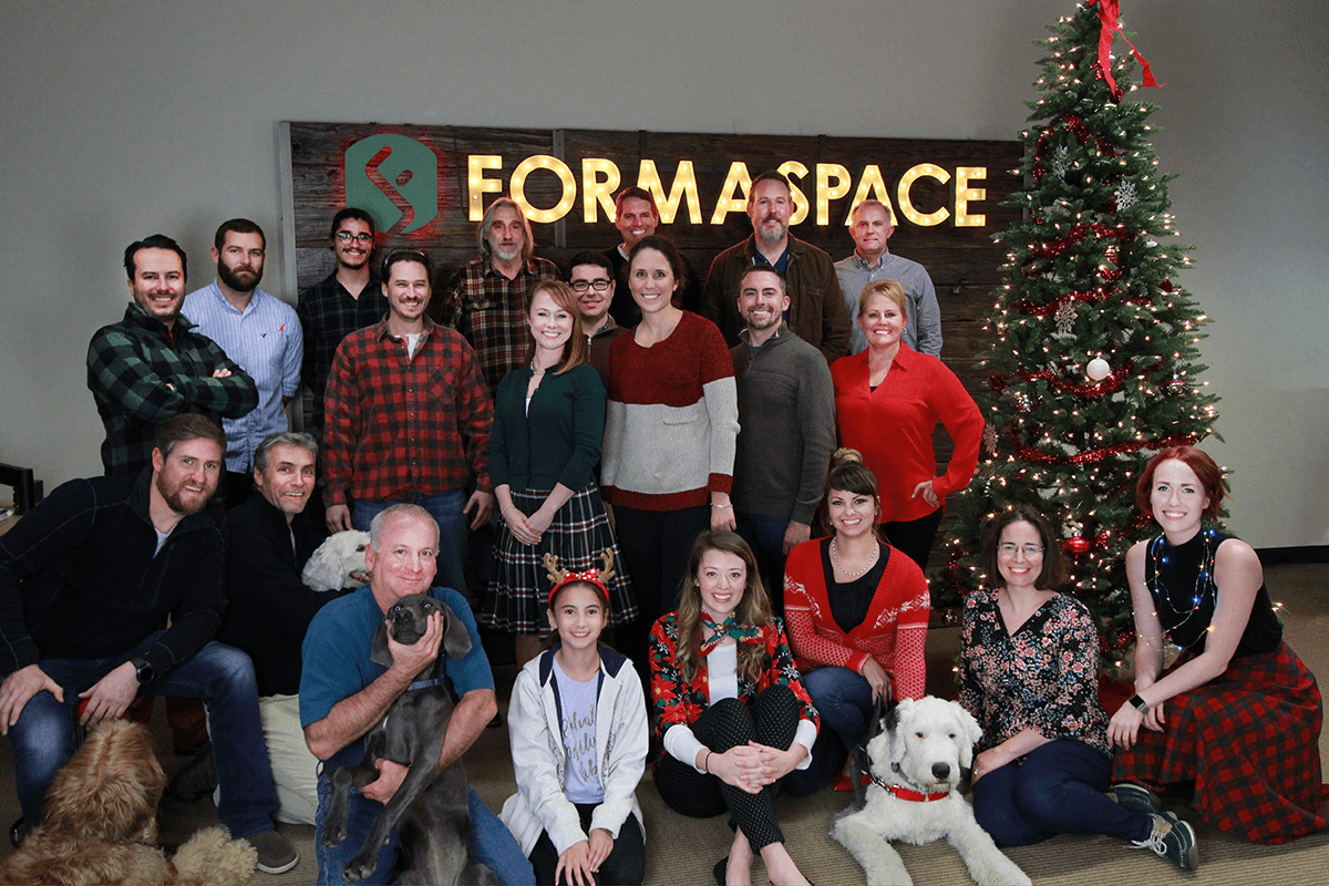 Formaspace holiday photo 2017