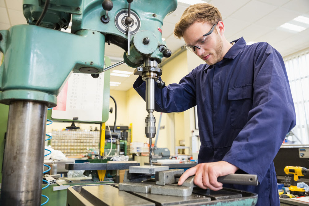 younger generations in manufacturing