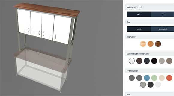 Sneak Peek of Formaspace's New 3D Configurator due to launch later this year.