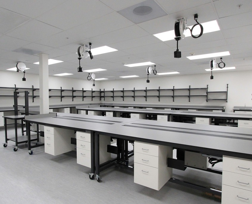 Specimen Processing Laboratory Benches