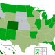 Map of US state cannabis laws 2018