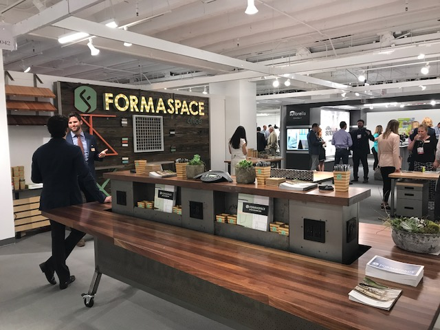 Formaspace Neocon booth