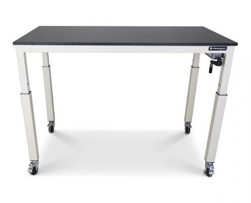 Height adjustable basix phenolic workbench